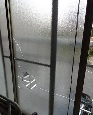 東京都目黒区 H様|ガラス修理/交換